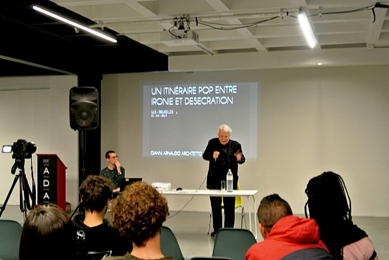 Lectio Magistralis @ADAM - Brussels Design Museum